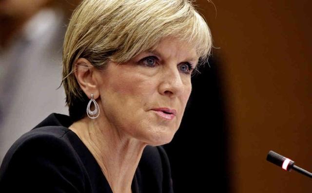 Ngoại trưởng Australia Julie Bishop (Ảnh: alchetron)