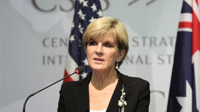 Ngoại trưởng Australia Julie Bishop (Ảnh: CSIS)
