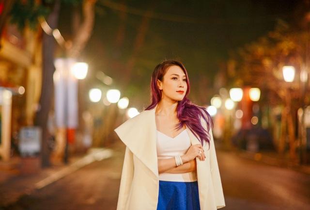 Mỹ Tâm yêu kiều trên phố cổ Hà Nội giữa đêm lạnh - 10