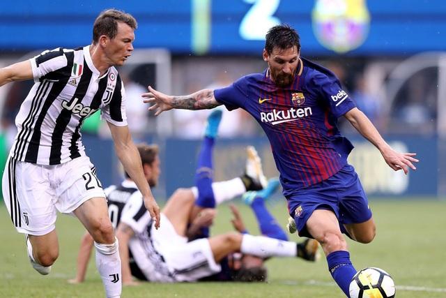 Juventus để thua Barcelona với tỷ số 0-3 ở lượt đi