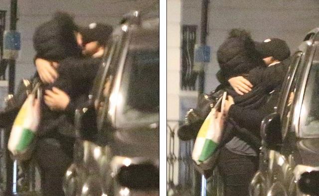 Nam diễn viên Joshua Sasse, 29 tuổi ôm thắm thiết một phụ nữ lạ mặt hồi tháng 3 năm ngoái, 1 tháng sau khi ngỏ lời cầu hôn bạn gái nổi tiếng Kylie Mingoue