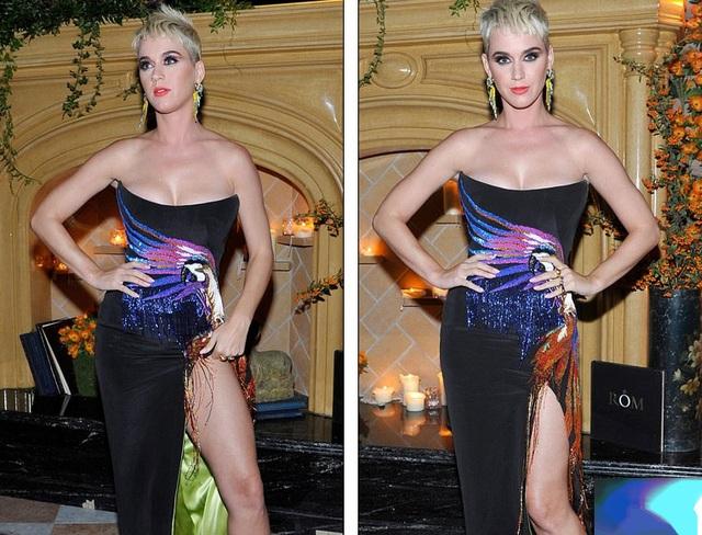 Katy Perry dự tiệc hậu lễ trao giải MTV VMA 2017 diễn ra ở Hollywood tối 28/8