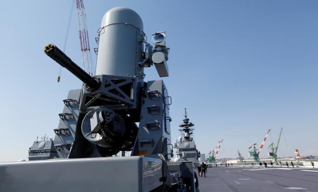 Kaga là tàu sân bay trực thăng lớp Izumo thứ 2 của Nhật Bản (Ảnh: Reuters)
