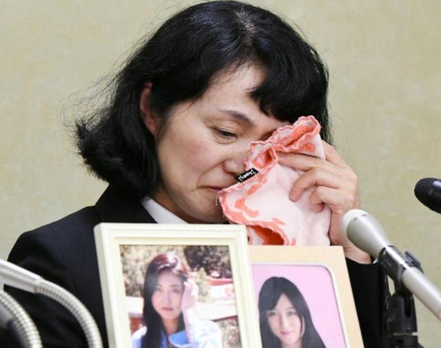 Bà Yukimi, mẹ của cô Takahashi. (Ảnh: Reuters)