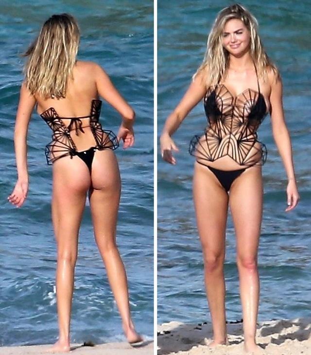 Kate Upton sở hữu chiều cao lý tưởng 180cm và đôi chân dài miên man tuyệt đẹp. Cô từng là tâm điểm của truyền thông khi có ý kiến cho rằng, cô có phần đẫy đà so với một người mẫu nhưng Kate đã khiến những quan điểm cũ kỹ của làng thời trang bị gỡ bỏ.