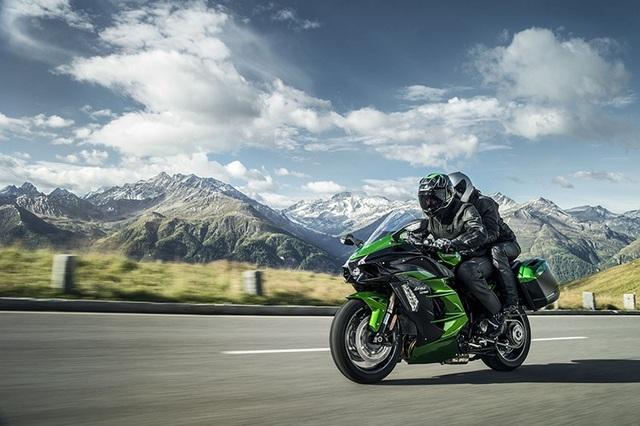 Kawasaki H2 SX có thiết kế thân thiện và linh hoạt hơn so với mẫu H2 tiền nhiệm.