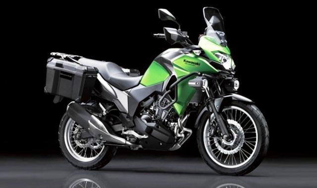 Kawasaki Versys-X 300 phiên bản cao cấp