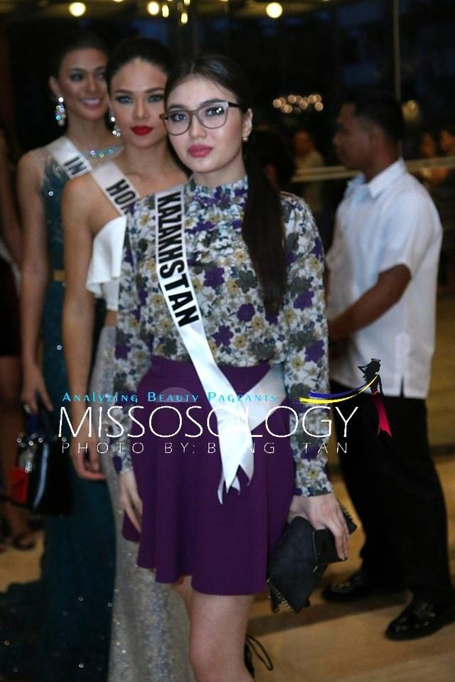 Lệ Hằng và các mỹ nhân khoe sắc trong tiệc tri ân Hoa hậu hoàn vũ 2015 - 58