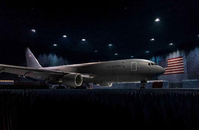 Máy bay KC-46 tại căn cứ không quân Edwards (Ảnh: Boeing)
