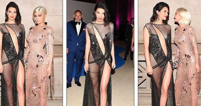 Kendall Jenner và em gái Kylie đều lọt Top những sao mặc đẹp tại sự kiện này