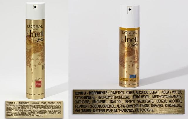 Keo xịt tóc L Oréal có Ethylhexyl và methoxycinnamate