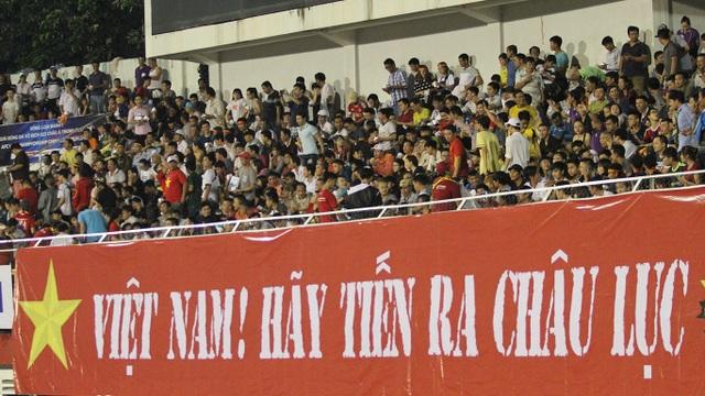 Thông điệp của người hâm mộ dành cho đội bóng của HLV Nguyễn Hữu Thắng
