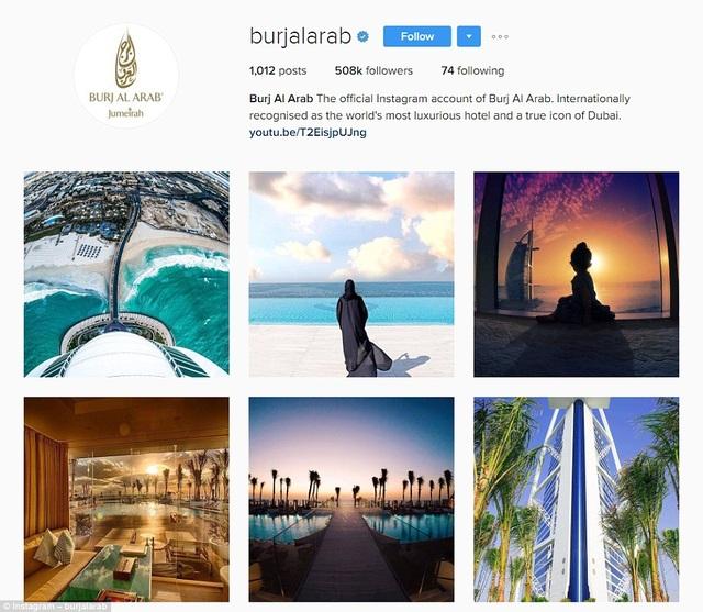 BAA đang là khách sạn quyền lực nhất thế giới với hơn nửa triệu người theo dõi trên Instagram