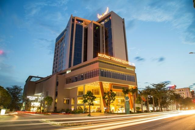 Khách sạn Mường Thanh ở TP Đông Hà cũng kín phòng dịp này