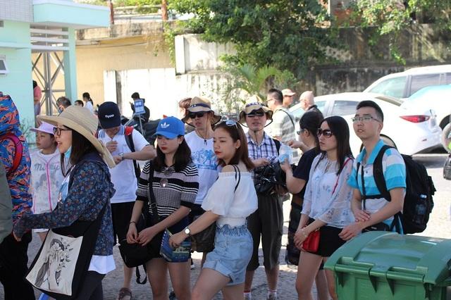 Đầu năm, du lịch biển đảo hút dòng khách Trung Quốc