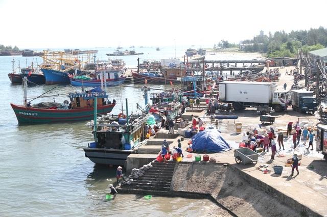 Cảng cá Cửa Việt, huyện Gio Linh nhộn nhịp trở lại