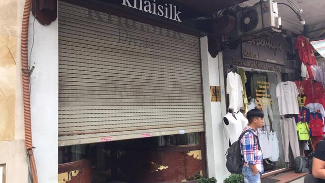 Sau khi bị kiểm tra, shop Khaisilk đã đóng cửa