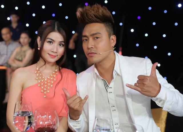 Kha Ly và chồng Thanh Duy