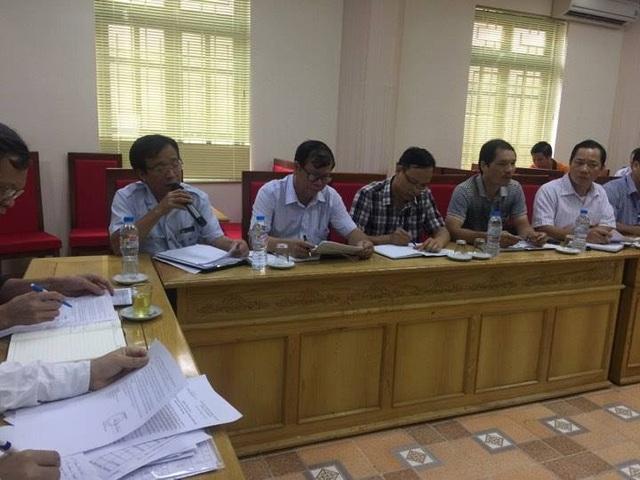 Chánh thanh tra Sở y tế Hưng Yên Lều Văn Quân báo cáo quá trình tiến hành kiểm tra, xác minh và xử phạt hành chính cơ sở khám chui