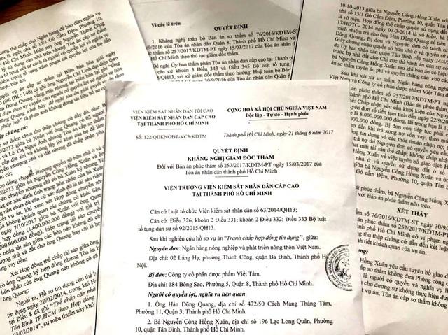 Viện KSND Cấp cao tại TP.HCM nhận định bản án sơ thẩm, phúc thẩm vi phạm nghiêm trọng về thủ tục tố tụng và thiếu sót trong thu thập chứng cứ.