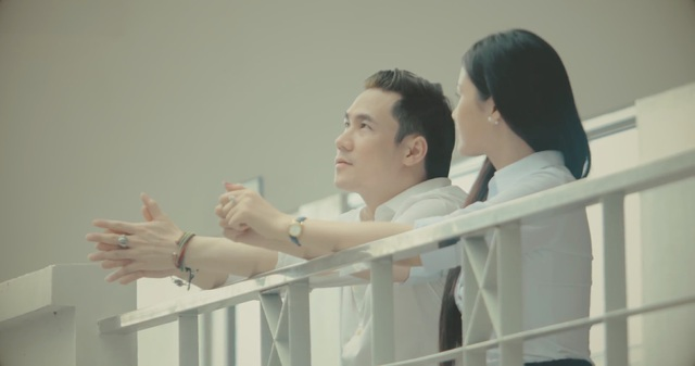 Hình ảnh của Khánh Phương trong MV Điệp vụ bất khả thi do mình lên ý tưởng và viết kịch bản.