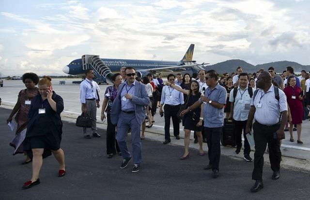 Hoạt động khảo sát tại sân bay quốc tế Đà Nẵng