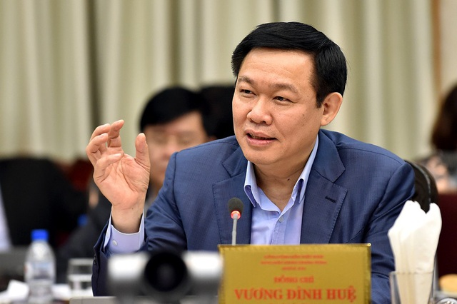 Phó Thủ tướng Vương Đình Huệ là Trưởng Ban chỉ đạo Trung ương về cải cải cách chính sách tiền lương, bảo hiểm xã hội và ưu đãi người có công.