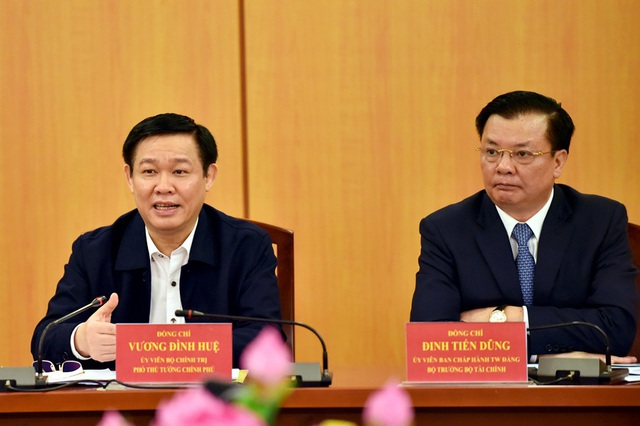 Phó Thủ tướng Vương Đình Huệ: Gắn việc giảm biên chế tương ứng với giảm cấp pháp ngân sách chi thường xuyên.