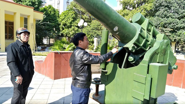Chủ tịch UBND phường Xuân Đỉnh khẳng định sẽ thuê đơn vị độc lập để thẩm định khẩu pháo ở khu di tích Pháo đài Xuân Tảo.