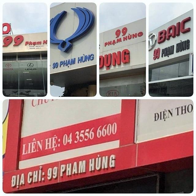 Một địa chỉ 99 Phạm Hùng nhưng nhìn sơ qua, có ít nhất 5 căn nhà cùng sử dụng. Thực trạng này đang gây khó khăn cho rất nhiều người, nhất là với các hộ gia đình kinh doanh và khách hàng.