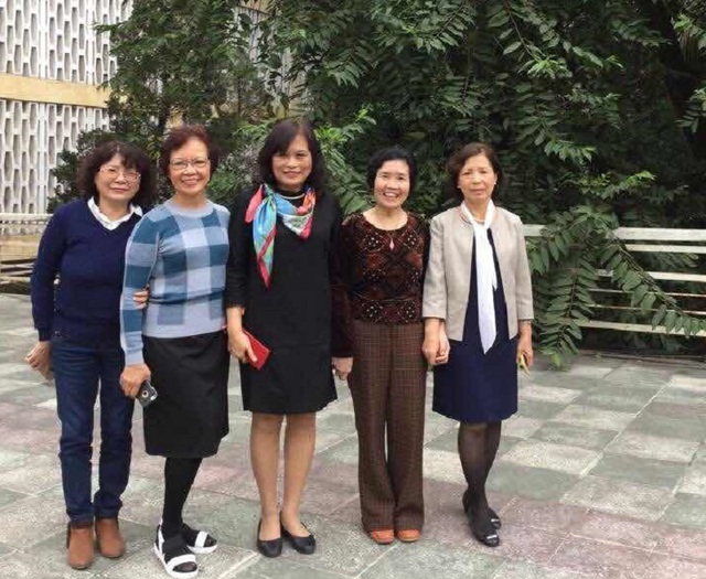 Chân dung 5 nhà khoa học nữ của Viện HLKH&CN Việt Nam nhận Giải thưởng Kovalevskaia 2016 (Ảnh: NVCC)