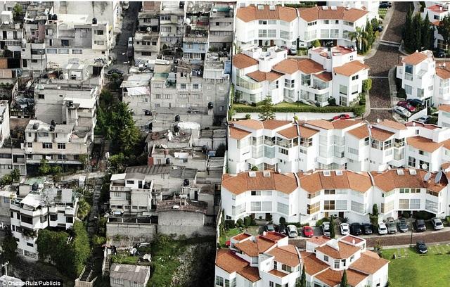 Mexico là một trong những quốc gia có sự phân chia giàu nghèo rõ rệt