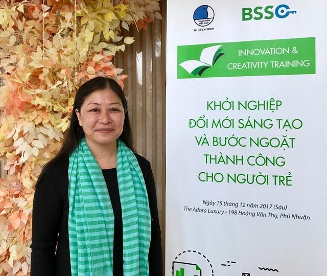 Bà Nguyễn Phi Vân – Thành viên sáng lập và phát triển công ty Wold Franchise Associates khu vực Đông Nam Á, thành viên sáng lập và điều hành công ty Retail Franchise Asia.