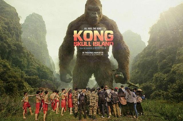 """Ảnh kỷ yếu """"ăn theo"""" phim Kong hoành tráng của học sinh Ninh Bình - 16"""