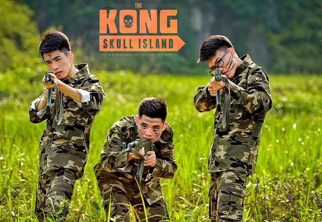 """Ảnh kỷ yếu """"ăn theo"""" phim Kong hoành tráng của học sinh Ninh Bình - 14"""