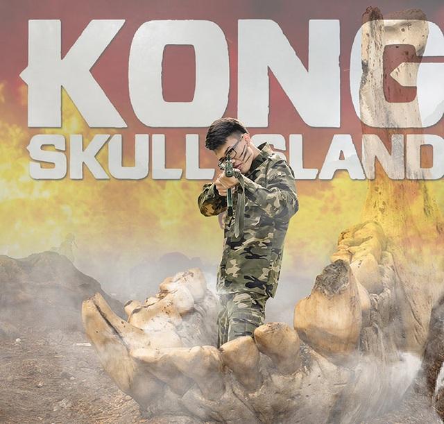 """Ảnh kỷ yếu """"ăn theo"""" phim Kong hoành tráng của học sinh Ninh Bình - 9"""