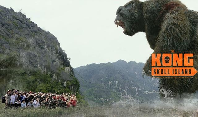 Người xem có thể nhận ra các nhân vật trong phim Kong như: đội thám hiểm, những người lính Mỹ dò đường, thổ dân…