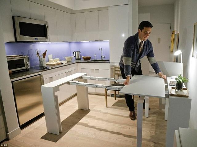 Cao cấp hơn là khối nhà chung cư mini thuộc khu lân cận Kips Bay ở New York. Đây là những căn phòng có diện tích nhỏ được thiết kế thông minh với giá thuê khoảng 2700 USD/tháng.