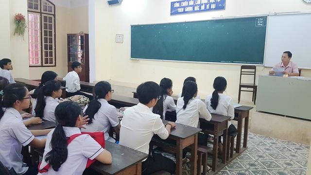 Học sinh tỉnh Thừa Thiên Huế dự kỳ thi tốt nghiệp THPT Quốc gia 2017