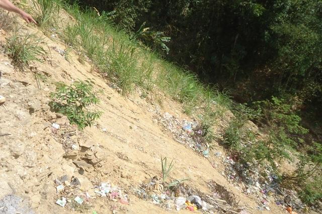 Nhiều hộ dân không nhận phần đất dốc được chia
