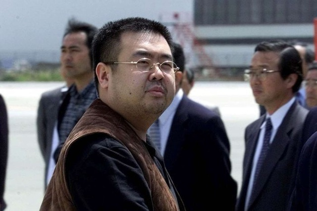 Ông Kim Jong-nam, anh cùng cha khác mẹ của lãnh đạo Triều Tiên Kim Jong-un (Ảnh: AFP)