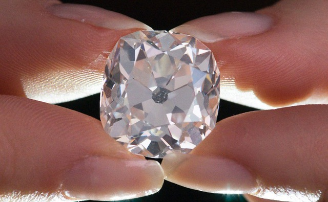 Viên kim cương này từng được mua với giá chỉ 10 bảng Anh (Ảnh: AFP/Getty)