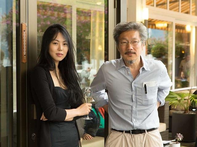 Nữ diễn viên Kim Min-hee và đạo diễn Hong Sang-soo