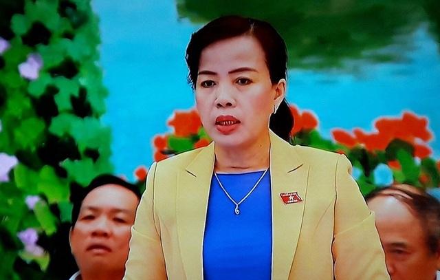 Đại biểu Nguyễn Thị Kim Thuý (Đà Nẵng).
