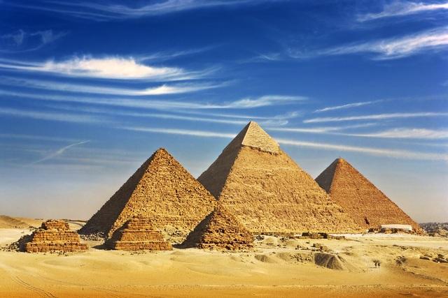 Kim tự tháp ở Ai Cập