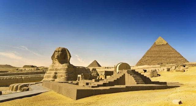 Kỳ quan kim tự tháp và tượng nhân sư