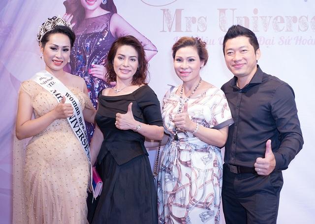 Bà xã Kinh Quốc là bạn thân với Hoa hậu Hạnh Lê, cả hai cùng là nữ doanh nhân thành đạt đang sống tại Vũng Tàu.