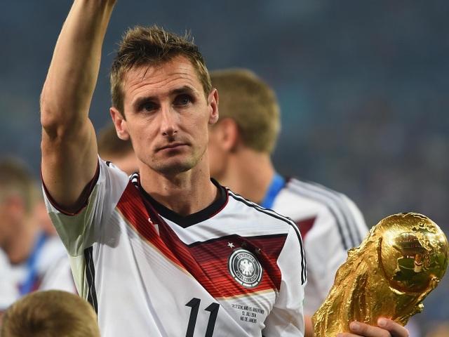 Miroslav Klose là người ghi bàn nhiều nhất trong lịch sử World Cup