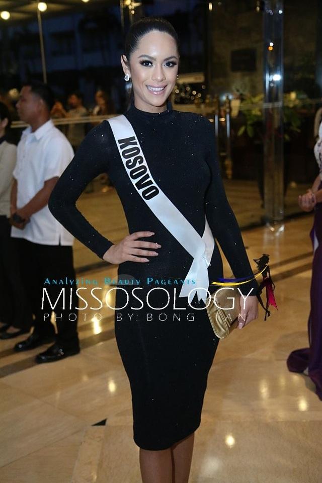 Lệ Hằng và các mỹ nhân khoe sắc trong tiệc tri ân Hoa hậu hoàn vũ 2015 - 61