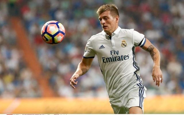Toni Kroos là trái tim trong thành công của Real Madrid